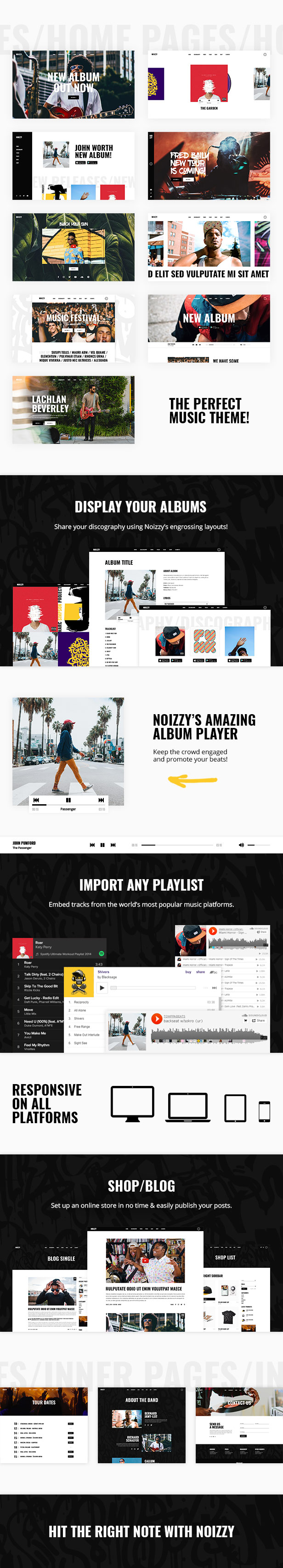 Noizzy - Music Band Theme - 1